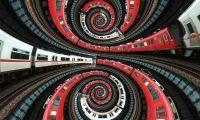 Train spiral: From vitroid/flickr
